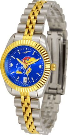 Kansas Jayhawks Ladies Executive AnoChrome Watch