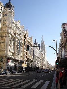 Gran Via - Madrid, ESPAÑA