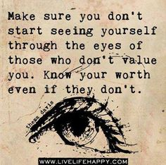 You are of value!