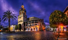 Church of Santa Maria la Mayor Ronda by dleiva
