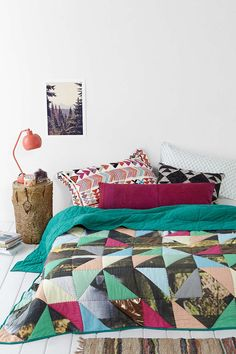 ARTS THREAD X UO Make It Patchwork Quilt  Been looking for one of these forever!!