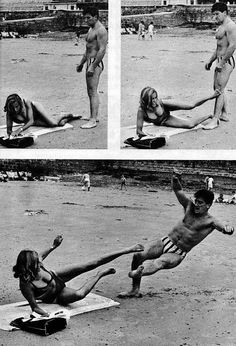 "Self Defense : Arrowhead Vintage: Honor Blackman demonstrates ""defense galore. Self Defense Moves, Self Defense Martial Arts, Self Defense Techniques, Self Defense Weapons, Arte Ninja, Brazilian Jiu Jitsu, Action Poses, Aikido, Mixed Martial Arts"