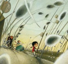 Rebecca Dautremer is my favourite french artist and illustrator... She is just incredible!