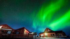 Aurora Borealis (Northern Lights). Time lapses in Norway. Polarlichter. ...