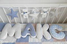 Купить буквы-подушки - буква, буквы из ткани, буквы для интерьера, буквы-подушки, подушка-игрушка