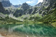 How to hike Vel'ká Svišt'ovka and Zelene Pleso (the green lake) in the Tatras of Slovakia. Tips on riding the cable car to Lomnicky Stit & Skalnate Pleso. High Tatras, Green Lake, Slovenia, Hiking, Mountains, Nature, Travel, Voyage, Trips