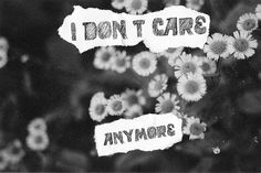 stop caring because its best like that 👌✌️. on We Heart It All Quotes, Words Quotes, Life Quotes, Relationship Quotes, I Dont Care Anymore, Nothing Matters, All Goes Wrong, Sayings And Phrases, Stop Caring