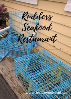 Take yourself out for lunch to Rudders Seafood Restaurant and Brew Pub in Yarmouth where the foos is fresh and hot and the service is excellent. Restaurant Fish, Lobster Dinner, Floating Dock, Wrap Around Deck, Hello Weekend, Local Music, Last Christmas, Brew Pub, The Way Home