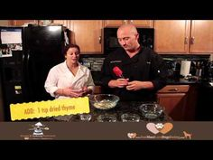 Doggy Cooking Network - Apple Treats - You Must Love Dogs Dating - YouTube