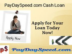 PaydaySpeed.com offers $1000 cash advance, bad credit ok, no faxing, and get the approval in 1 hour. http://www.paydayspeedloans.com/payday-speed-com-payday-loans-online-no-credit-check