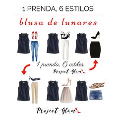 6 outfits con la misma prenda: una blusa de lunares.  #ImagenPersonal #Dots #Lunares Cosmo Girl, Personal Branding, Ralph Lauren, My Style, Casual, Tips, How To Wear, Beauty, Women