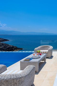 Lovely Villas in Crete, Chania, Your Top Holiday Villa in Kreta, Great Luxury Villas in Chania and Rethymno Places To Travel, Places To See, Crete Holiday, Europe Centrale, Seaside Village, Luxury Holidays, Villa Holidays, Santorini Greece, Ultimate Travel