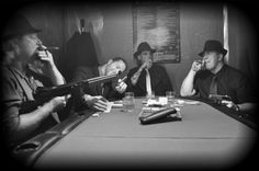 Groomsmen Poker Game Photo! My 1920's Gangster Wedding.