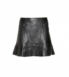 Marc by Marc Jacobs - Karlie leather skirt  - mytheresa.com GmbH