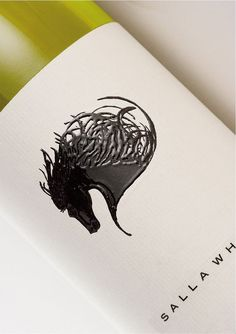 Salla Wine Tactile Wine Label Design