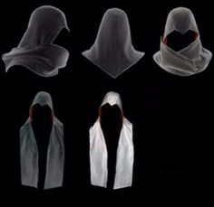 bufandas assassins creed varios colores ameyaltzin nacional