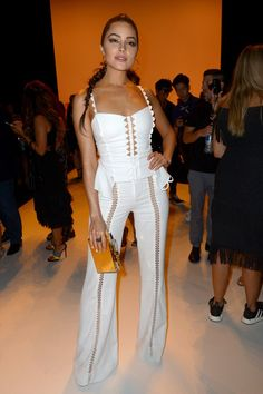 When You Look This Good at Fashion Week, You Have to Sit Front Row Olivia Culpo At Jonathan Simkhai.