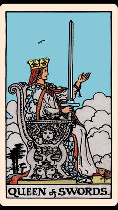 The Card of the Day: The Queen of Swords