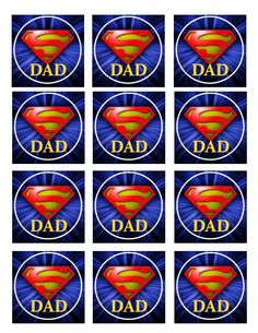 Super Dad Printable