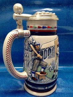 Vintage 1984 American Baseball Stein by Avon