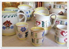Arabia Pirtti Mökki. Sugar Bowl, Bowl Set, Mugs, Tableware, Blog, Dinnerware, Tumbler, Dishes, Blogging
