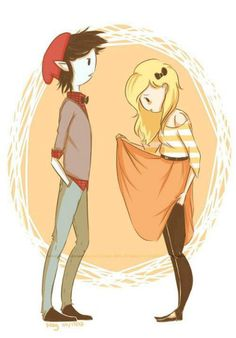 Fionna and Marshal Lee love it