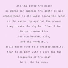 My Mom all the way. I love the ocean as well, but I am more at home in the mountains.