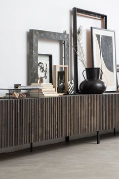 Exclusive Collection, Gravure, Black And Brown, Living Room, Storage, Modern, Inspiration, Furniture, Identity