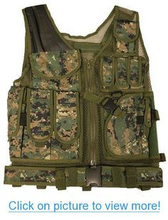 Ultimate Arms Gear Tactical Marpat Woodland Digital Camouflage Lightweight Edition Tactical Scenario Military-Hunting Assault Vest w/ Right Handed Quick Draw Pistol Holster #Ultimate #Arms #Gear #Tactical #Marpat #Woodland #Digital #Camouflage #Lightweight #Edition #Scenario #Military_Hunting #Assault #Vest #w_ #Right #Handed #Quick #Draw #Pistol #Holster