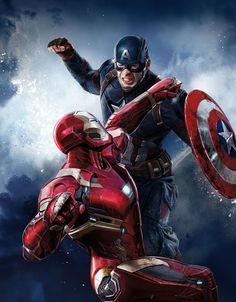 Capitão América - Guerra Civil (2016) Último filme que assisti em maio, grávida da Laura. Muito bom!