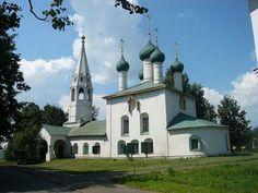 Ярославль - Достопримечательности - Церковь Николы рубленый город--city Yaroslavl
