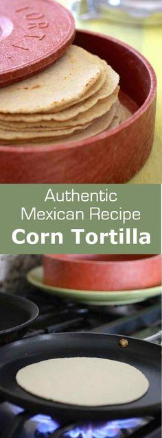 La tortilla de maïs est un aliment de base au Mexique et en Amérique centrale. Elle est utilisée pour faire des tacos, des enchiladas ou même des chips. via @196flavors