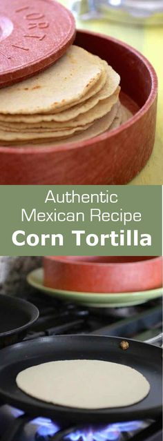 Corn tortillas are a staple in Mexico and Central America. They can be used to make tacos, enchiladas or be fried to make corn tortilla chips. #mexico #bread #196flavors