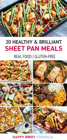 20 Healthy & Brilliant Sheet Pan Dinner Meals (Paleo, Gluten-Free, Real Food)