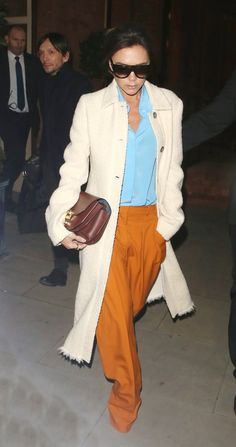 The Bottom Half of Victoria Beckham's Look Is Not What We Expected via @WhoWhatWear