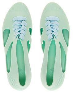 F-Troupe Jelly Bathing Flat Shoes