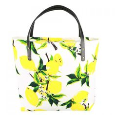 Sweet Lemon Print and Cloth Design Women's Tote Bag #women, #men, #hats, #watches, #belts, #fashion, #style