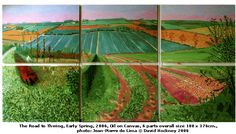 David Hockney Painting Yorkshire
