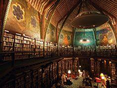 """Oxford Union Library"". Biblioteca en Oxford, Reino Unido."