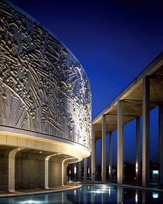 The Mark Taper Forum, part of the Los Angeles Music Center campus, Los Angeles, CA.