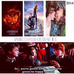 Lol haha funny pics / pictures / FANDOMS UNITE / Divergent / Harry Potter / Ron / Harmony / Tris / Hunger Games / Mockingjay / The Fault In Our Stars / Hazel~~~ HP Ron, dear, you speak the truth. Hunger Games Mockingjay, Hunger Games Trilogy, Percy Jackson, I Love Books, My Books, Divergent Trilogy, Divergent Party, All The Bright Places, Fandom Crossover