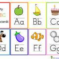 Free, Printable Alphabet Flash Cards for Kids: Alphabet Flash Cards by Home School Creations