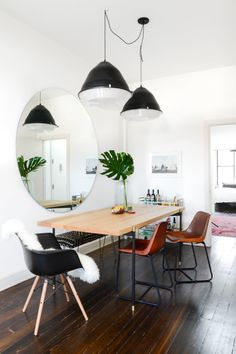 Spotted CB2 via @Homepolish //https://www.homepolish.com/mag/our-designers-williamsburg-apartment?utm_source=homepolish&utm_medium=newsletter&utm_campaign=tina_apostolou&utm_content=032416&gallery_id=18412
