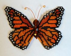 Rainbow Monarch Pattern and Tutorial by WizardIslandDesigns