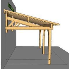 Patio Diy, Patio Pergola, Pergola With Roof, Backyard Patio Designs, Modern Pergola, Small Pergola, Patio Ideas, Deck Design, House Design