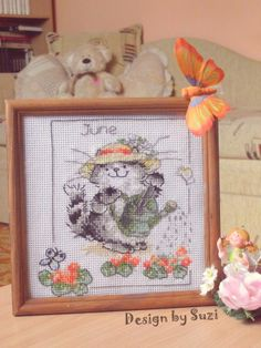 Margaret Sherry: Calendar Cats (June)