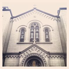 Church of the Most Precious Blood. Baxter St. Chinatown. NYC. Twitter / Recent images by @jenbakerbrown