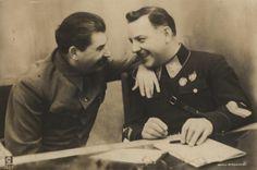 Сталина и Ворошилова, 1936 ☭