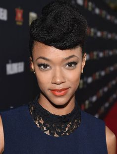 The Walking Dead Season 5 Premiere Party Photos -- Sonequa Martin-Green The Walking Dead, Walking Dead Season, Sonequa Martin Green, Talking To The Dead, Dead Inside, Stuff And Thangs, Dead Man, Daryl Dixon, Party Photos