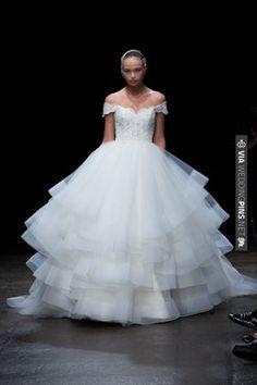 Wedding gown 2013 - lazaro   VIA #WEDDINGPINS.NET